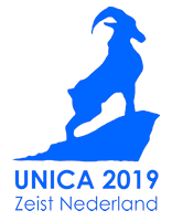 The logo of UNICA 2019.